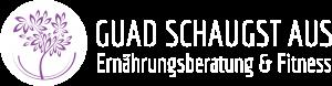 Guad schaugst aus Logo